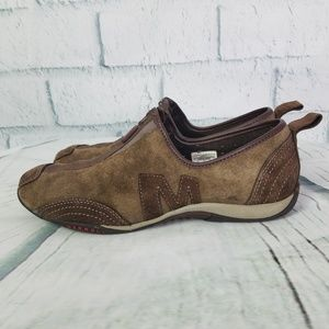 Merrell Barrado Leather Mocha Performance Shoe